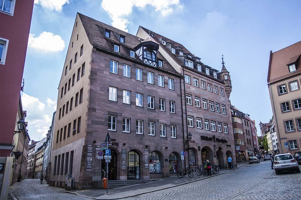 Die Ärzte am Albrecht-Dürer-Platz in Nürnberg