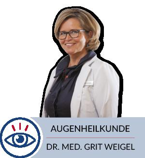 Dr. med. Grit Weigl Augenheilkunde