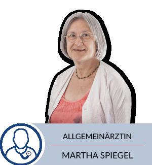 Allgemeinärtzin Martha Spiegel